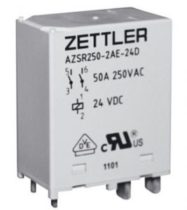 Zettler 50 A Solar and EV Relay